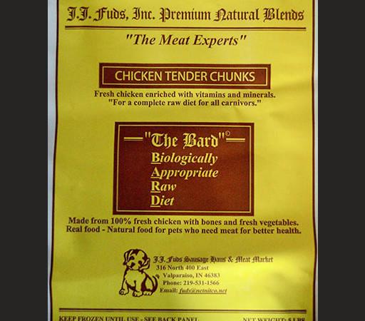 J.J. Fuds Pet Food Recall