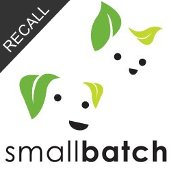 smallbatch Brand Pet Food Recall