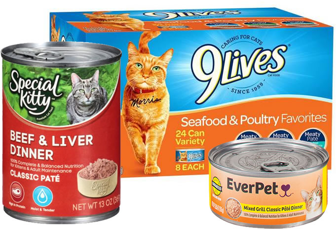 Lives Canned Cat Food Recall