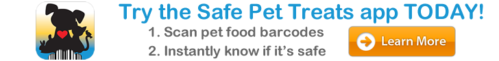 Safe Pet Treats Header Ad