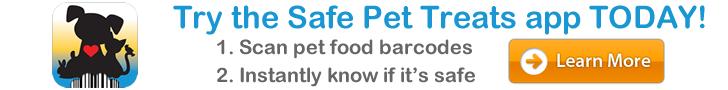 Safe Pet Treats Header Ad