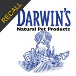 Darwin's Natural Pet Products Recall | March 2018