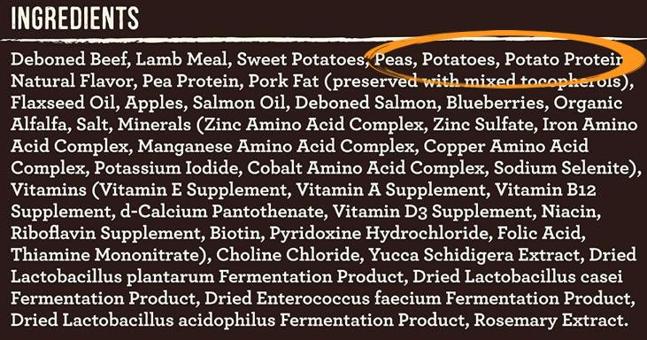 FDA Dog Food Ingredient Alert
