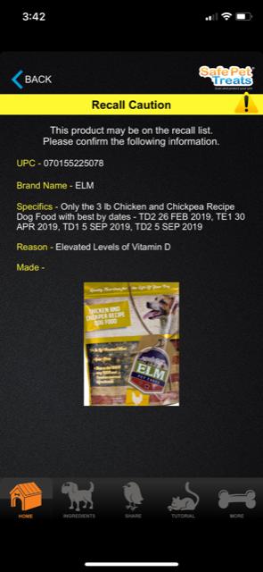 Safe_Pet_Treats_app_screenshot