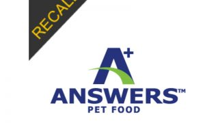A+ Answers Pet Food Brand – FDA Caution| January 2019