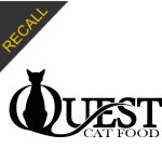 Quest Cat Food Recall | November 2019