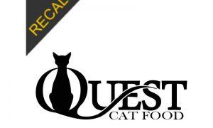 Quest Cat Food Recall | November 2019