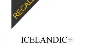IcelandicPlus Recall | March 2020