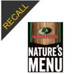 Nature's Menu Dog Food Recall | August 2020