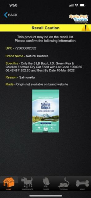 Safe_Pet_Treats_Screenshot