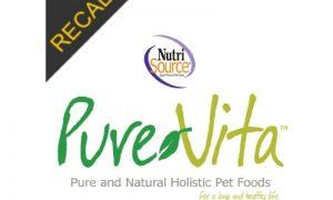 NutriSource PureVita Dog Food Recall | October 2021